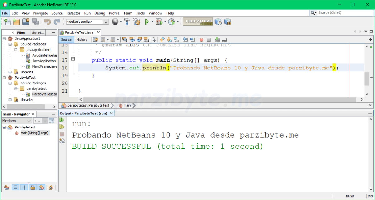 Instalar NetBeans IDE 10 con Java en Windows